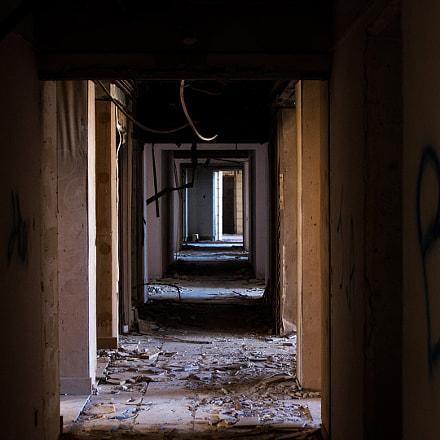 Abandoned jerma palace hotel