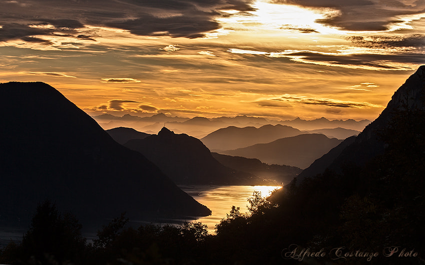 Photograph   Golden sunset by Alfredo Costanzo on 500px