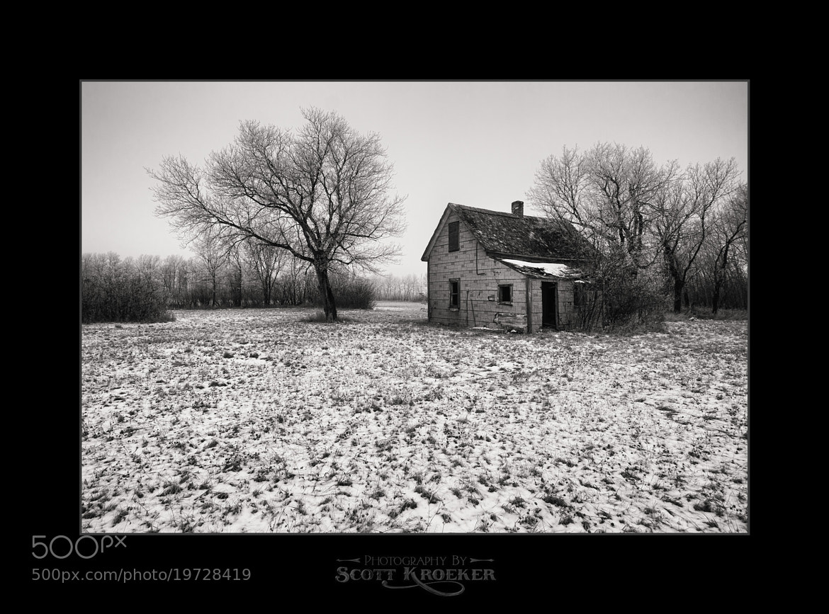 Photograph The Grey House by Scott Kroeker on 500px