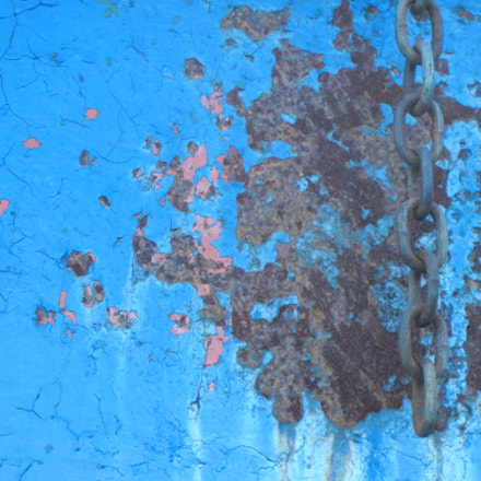 Dumpster Abstract, Nikon COOLPIX S8100
