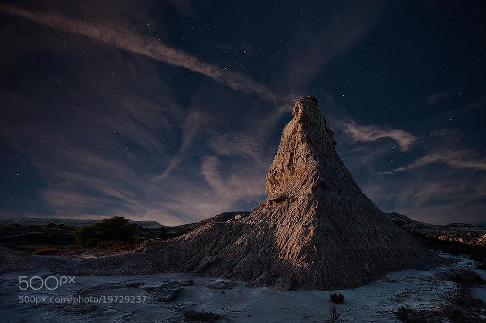 Photograph Moonrise by David Martín Castán on 500px