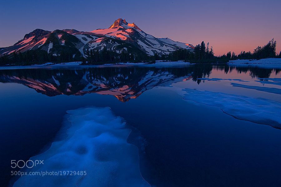 Photograph Icy Blue Morning by Rick Lundh on 500px