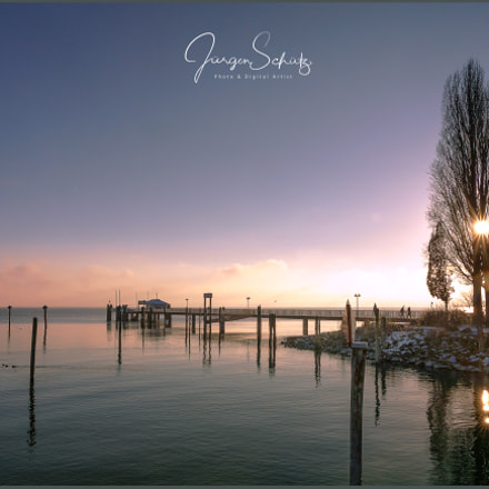 Sundown Lake Constance