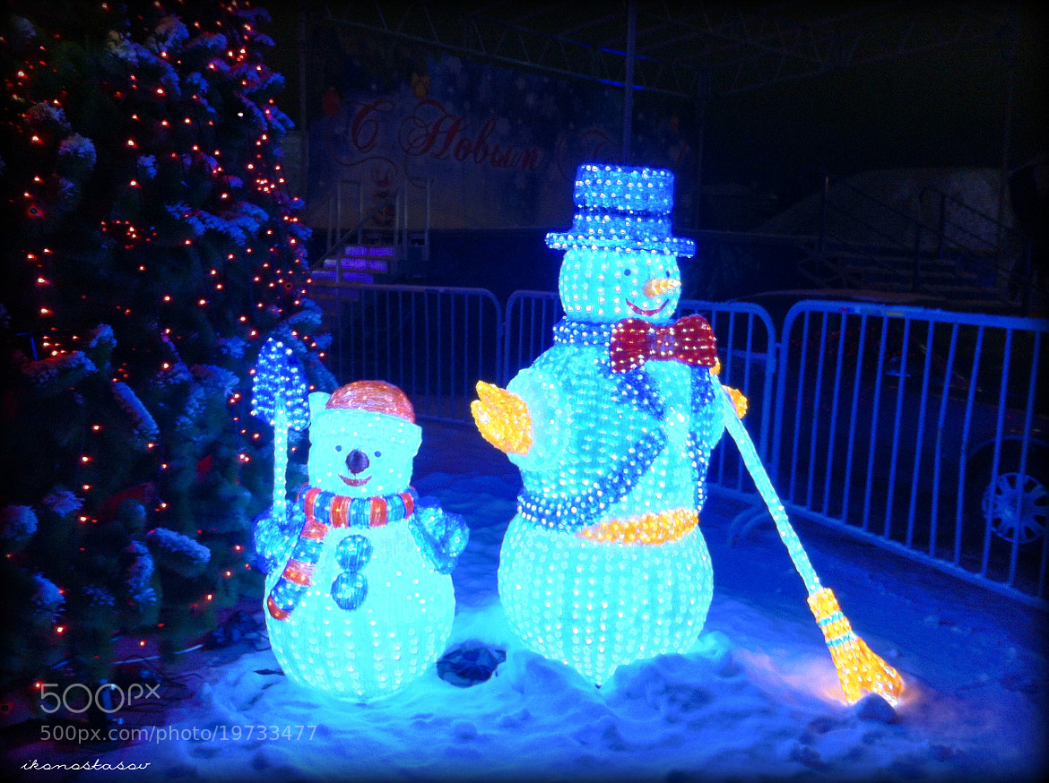 Photograph snowman by lilmik photography on 500px