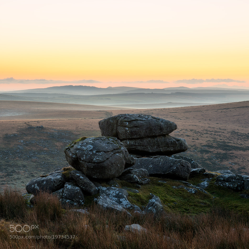 Photograph Sunrise on Rough Tor by Marc Elliott on 500px