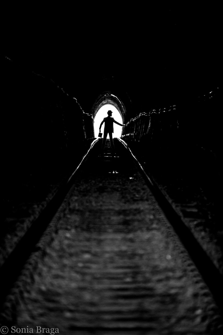 Photograph They say there is light at the end of the tunnel by Sonia Braga on 500px