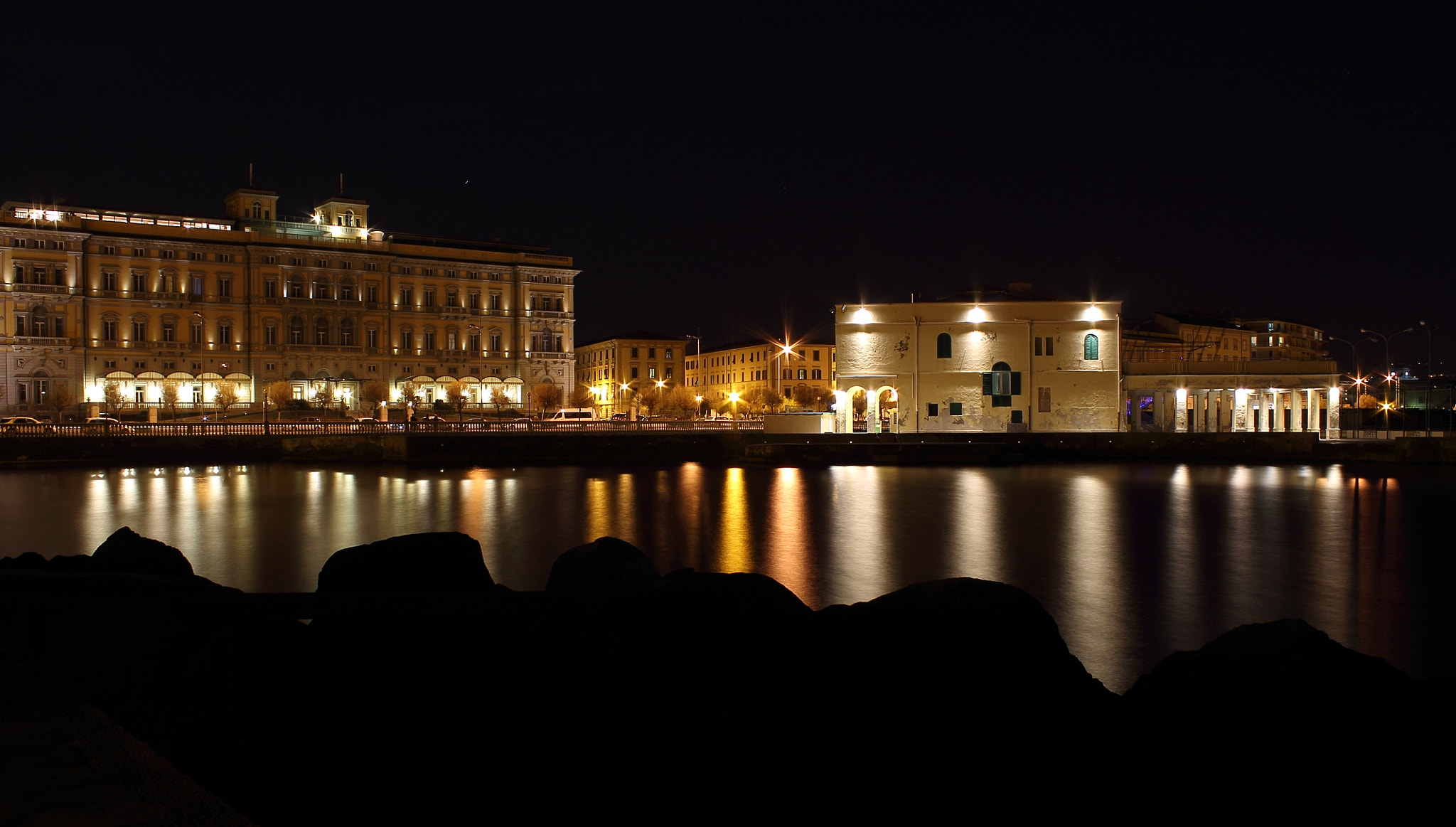 Photograph Livorno by night by Maurizio Ragni on 500px