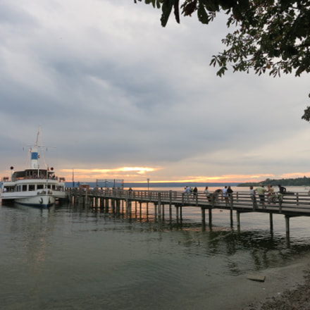 Ammersee Evening, Canon POWERSHOT S110