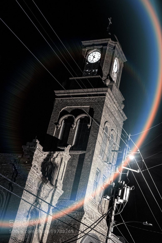 Photograph moon flare by Gil Birman on 500px