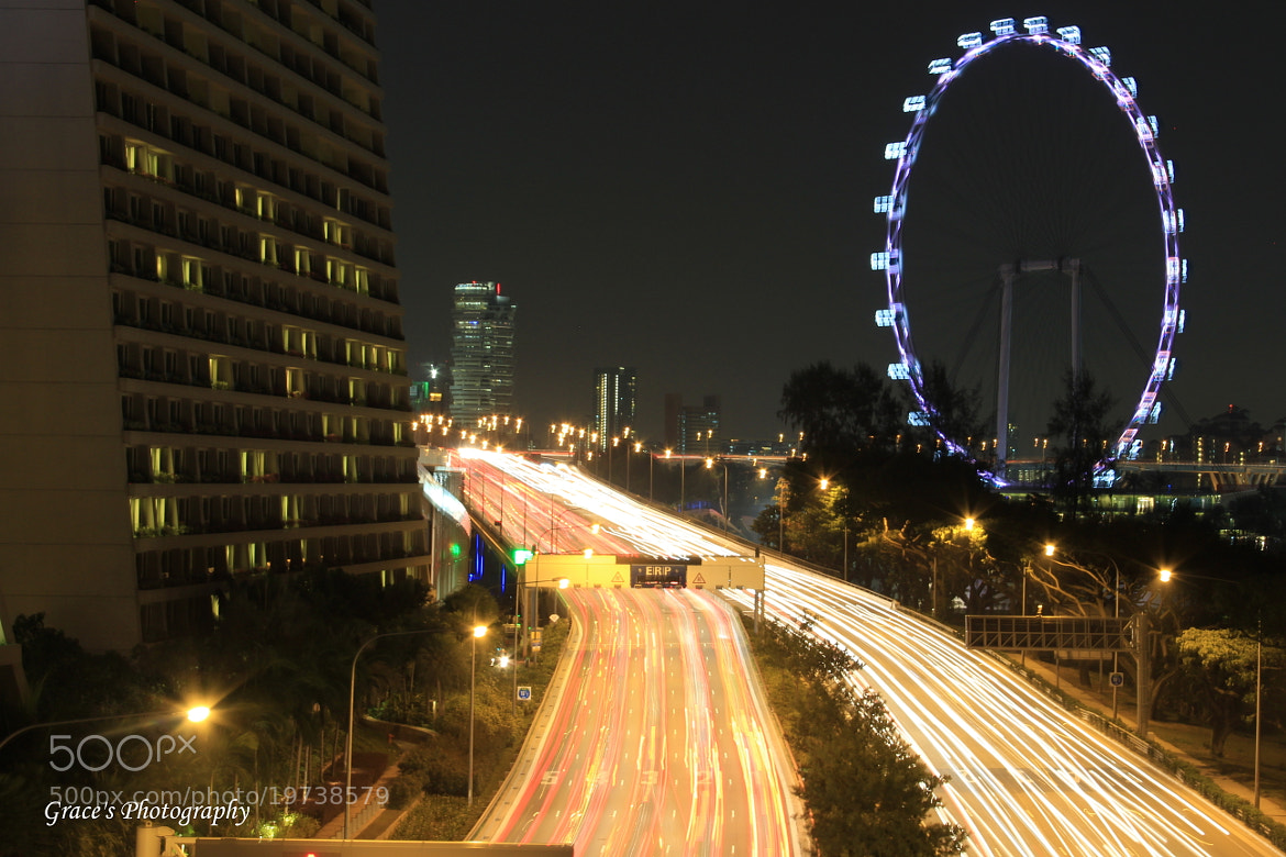 Photograph Night Trail by Grace Sakura on 500px