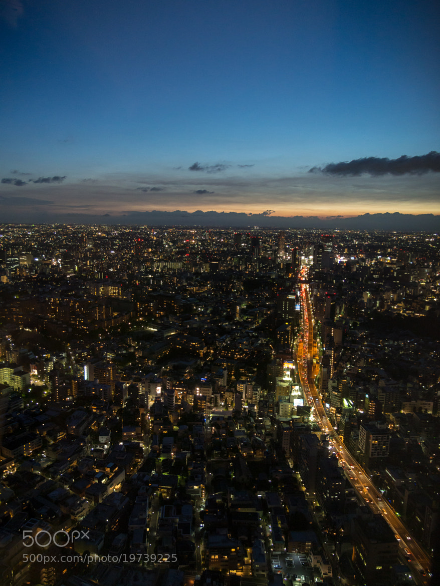 Photograph Dusk over Tokyo by Dre  on 500px