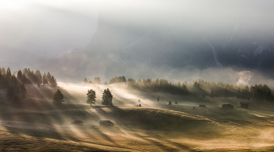 """<a href=""""http://www.hanskrusephotography.com/Workshops/Dolomites-October-7-11-2013/24503434_Pqw9qb#!i=2245668923&k=MP7LnT4&lb=1&s=A"""">See a larger version here</a>  This photo was taken during a photo tour that I led in the Dolomites October 2012."""
