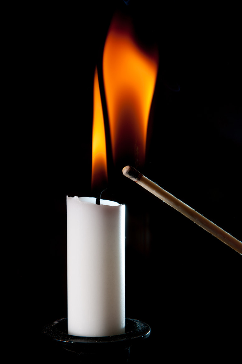 Photograph candle 3 by Michael Kutzia on 500px