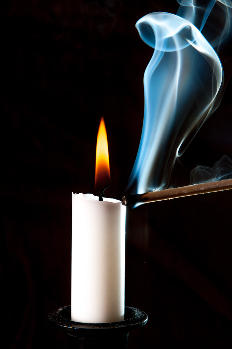 Photograph candle 1 by Michael Kutzia on 500px