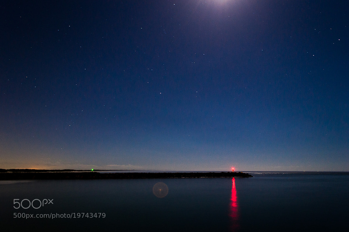 Photograph The Spit By Night by David O'Byrne on 500px