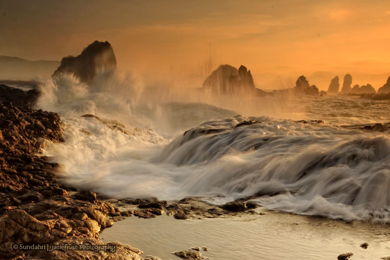 Photograph The Wild Waves by Sundahri Ir. on 500px