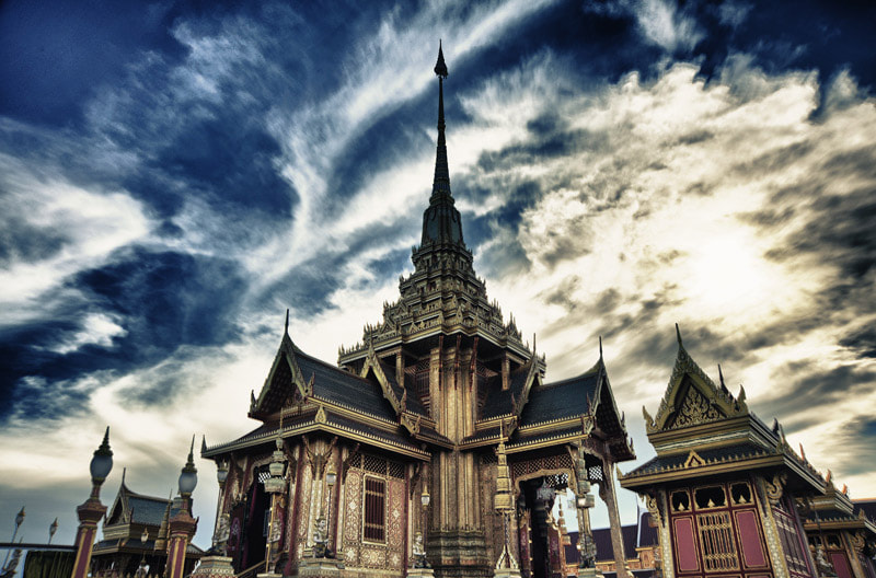 Photograph Thailand Royal cremation fire  by Oaki Tulkijjawong on 500px