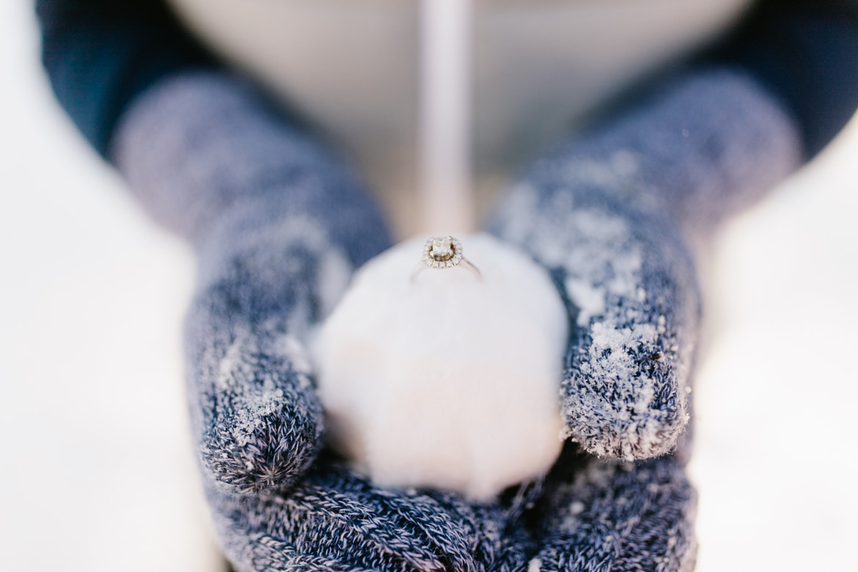 Snowball-Ring