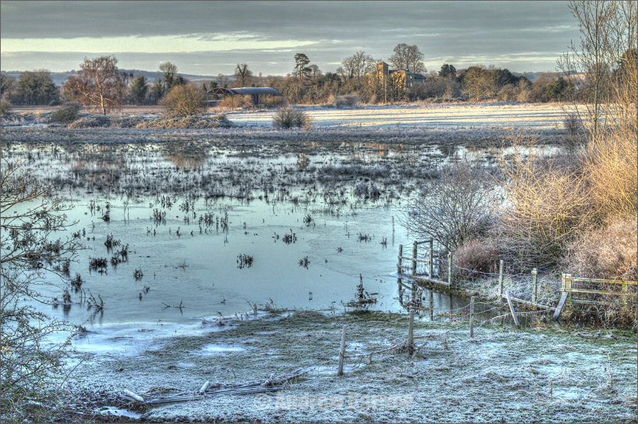 Photograph Frosty and Flooded Field by Andrew Barrow LRPS on 500px