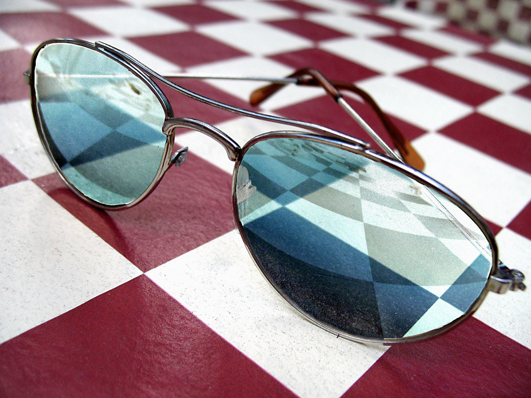 Photograph checkered shades by Mister Mark  on 500px