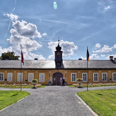 The Kozel Castle at noon