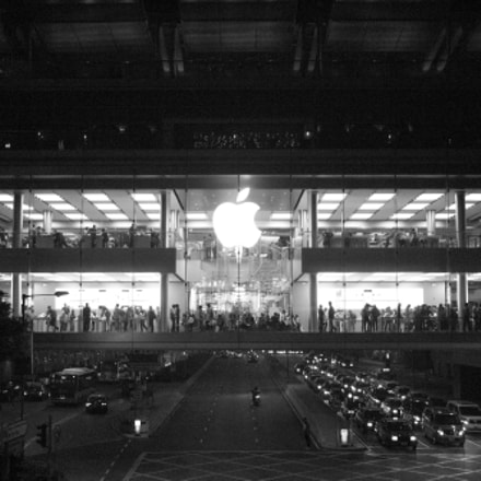 Apple Store Hong Kong, Panasonic DMC-GF2, Lumix G 20mm F1.7 Asph.