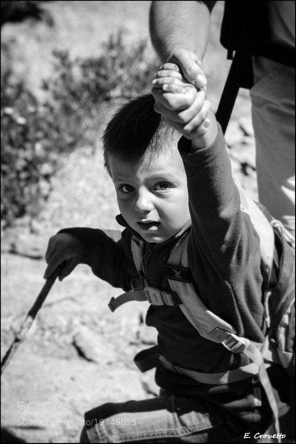 Photograph Young mountaineer by Emanuele Crovetto on 500px