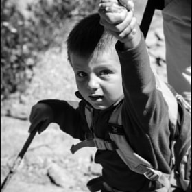 Young mountaineer by Emanuele Crovetto (ManuCrovetto)) on 500px.com