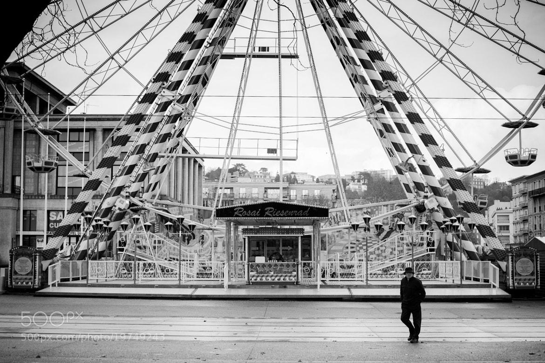 Photograph Grande roue by Mickaël LIBLIN on 500px