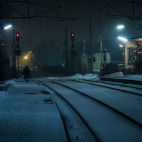 Photograph snowStation by Lukas Bachschwell