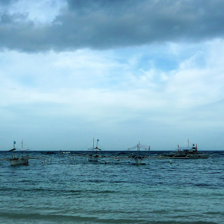 Boats at Bohol, Philippines 2011, Panasonic DMC-FX36