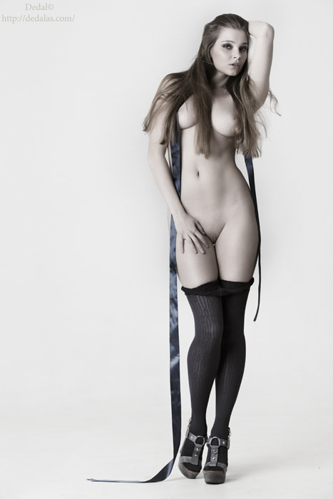 Photograph Girl with tape by Vladimir Dedal Larionov on 500px