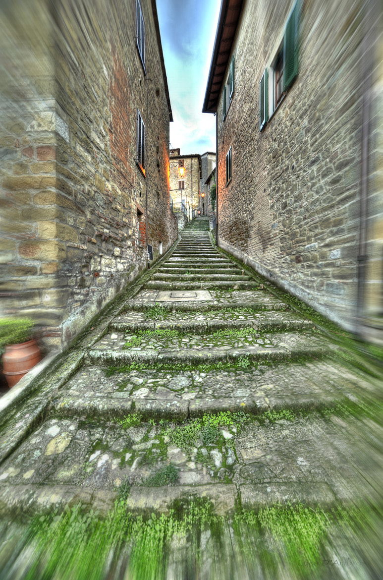 Photograph inside town by Luca D'Ambros on 500px