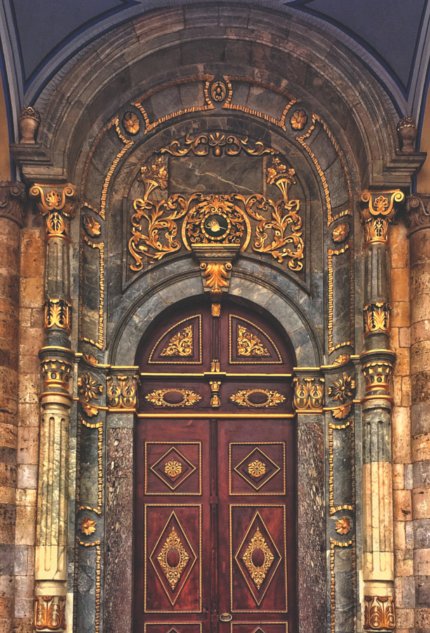 seljuk door by Ahmet Hamdi on 500px.com