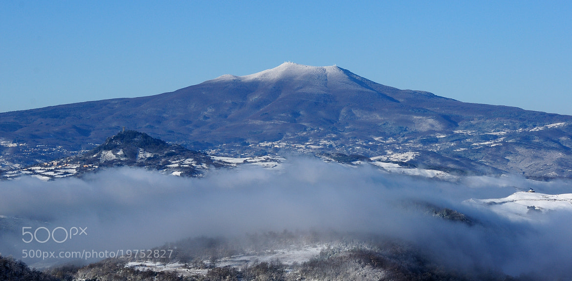 Photograph Mt. Amiata and Radicofani this morning... (03-12-2012) by Renato Pantini on 500px