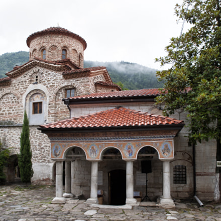 Orthodox monastery of Bachkovo. Bulgaria.