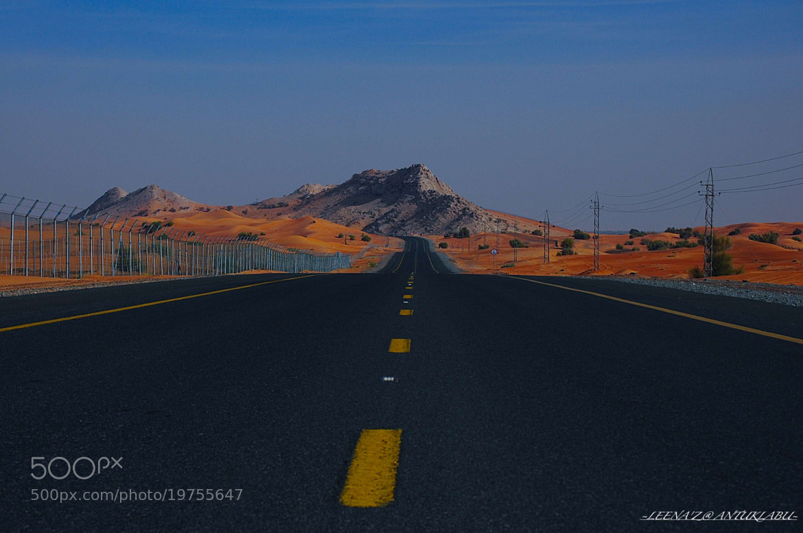Photograph The road (1) by Leena'z Anilzam on 500px