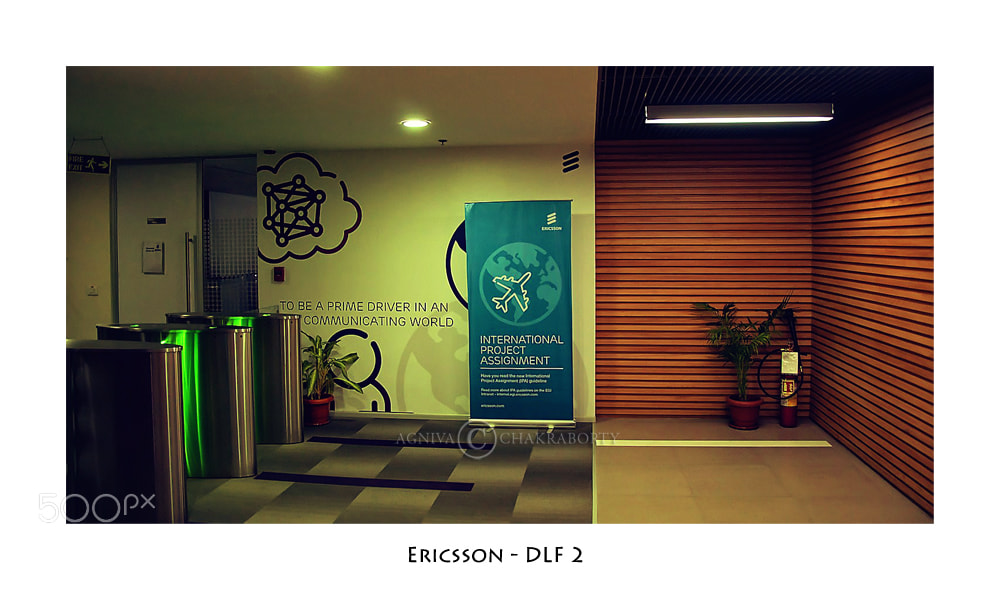 Photograph Ericsson - DLF 2 by Agniva Chakraborty on 500px