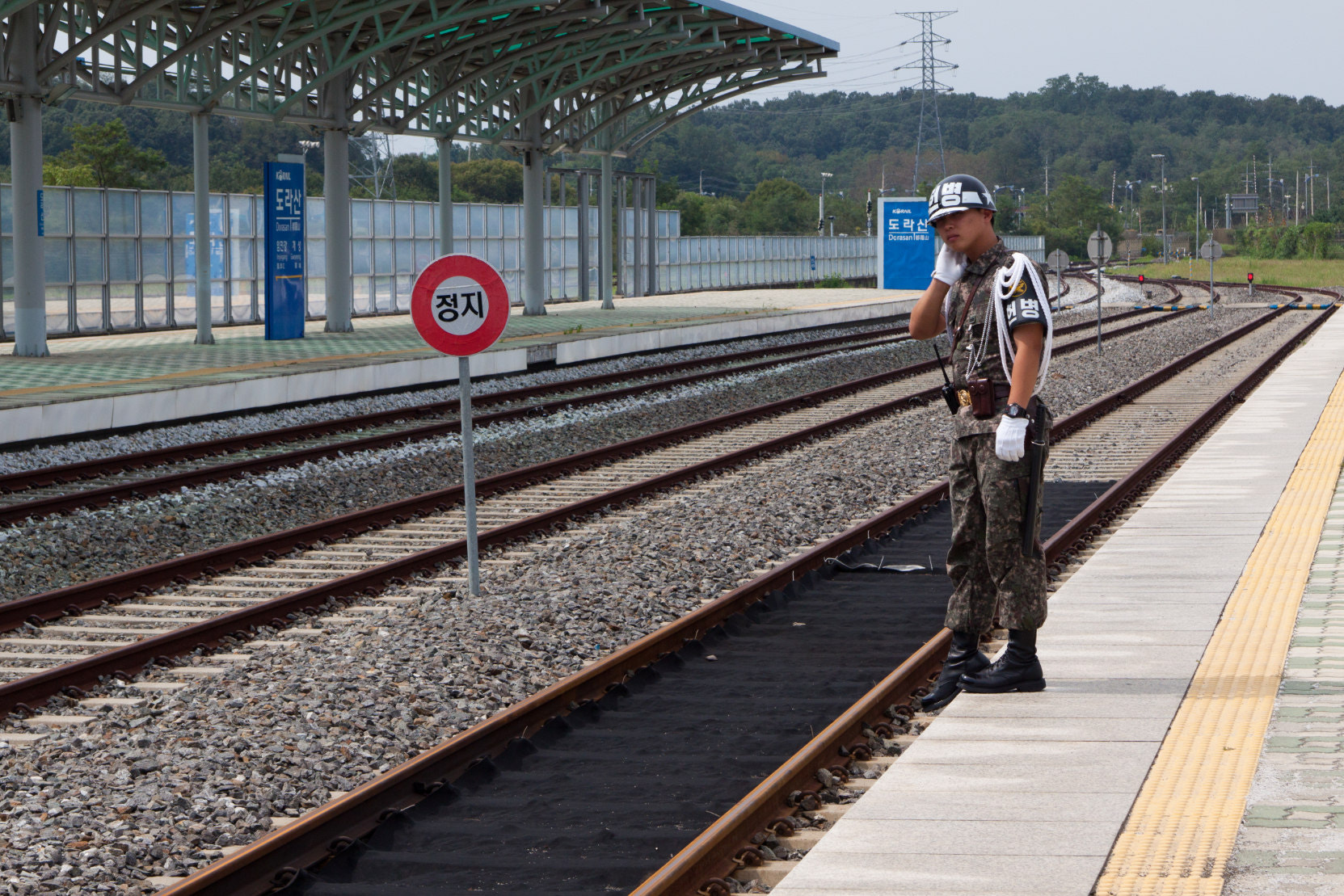 Photograph Waiting the train to North Korea by Andres Guerrero on 500px