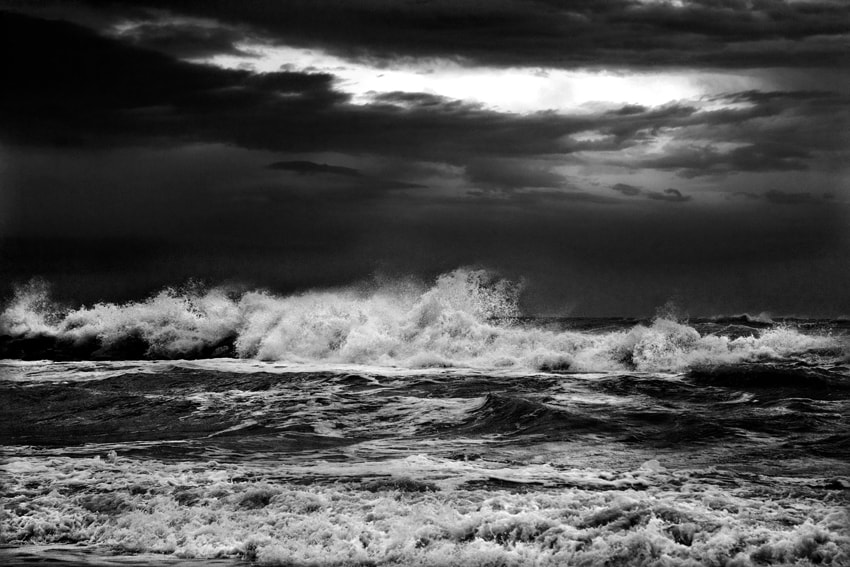 Photograph The Disruptive Force Of Waves by mario pignotti on 500px