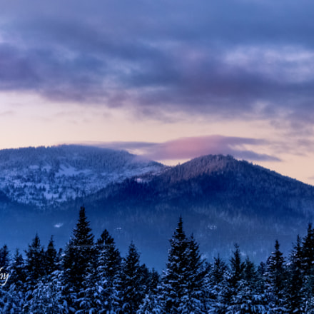 Rathdrum Mountain, Canon EOS REBEL T6S, Canon EF-S 55-250mm f/4-5.6 IS STM