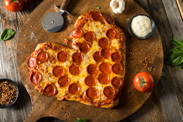 Homemade Heart Shaped Pepperoni Pizza by Brent Hofacker on 500px.com