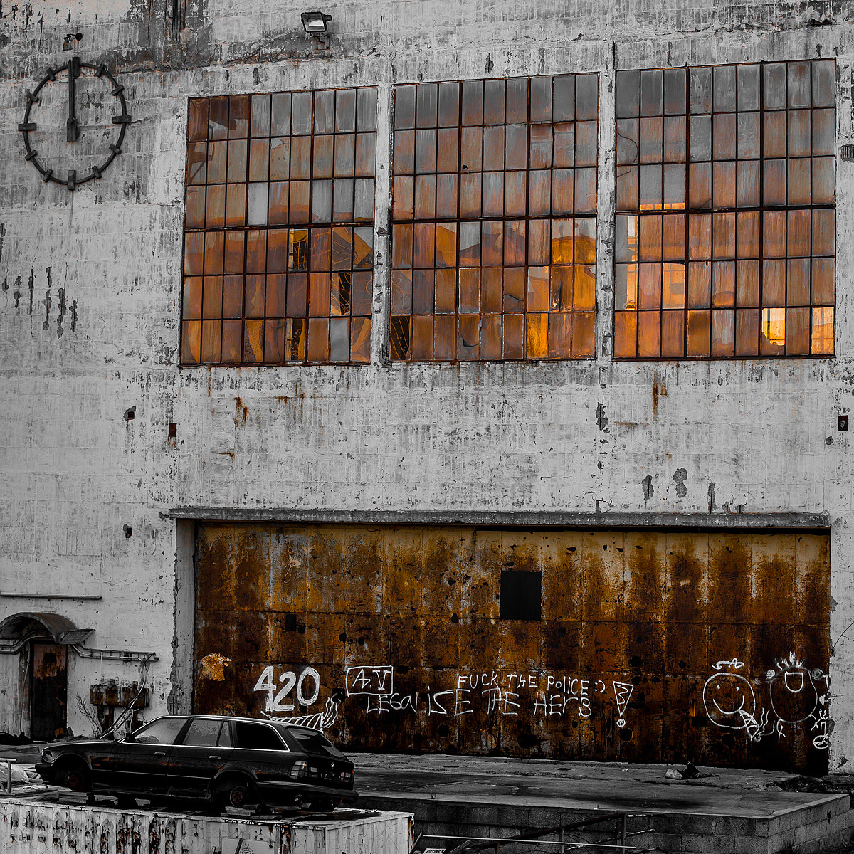 Photograph Closed Factory by Ove Bjerknes on 500px