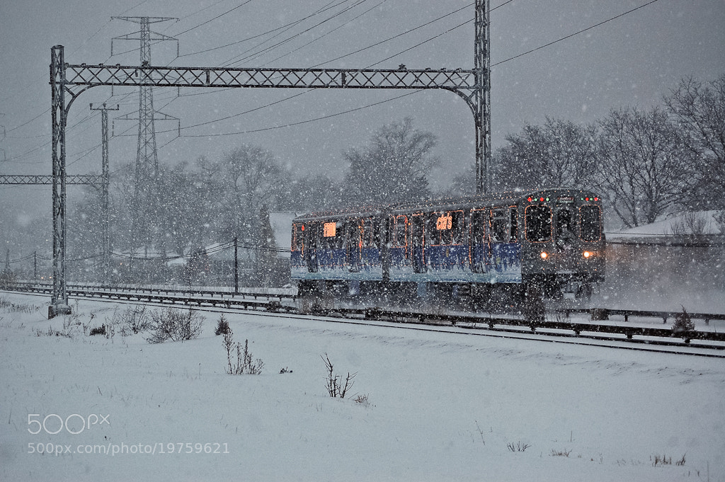 Photograph holiday train by Sam D. on 500px