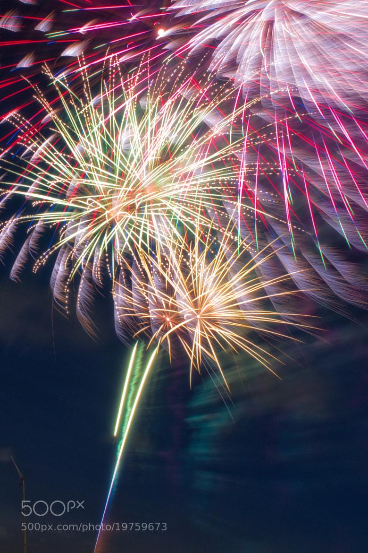 Photograph Fireworks by Yoshitada Kurozumi on 500px