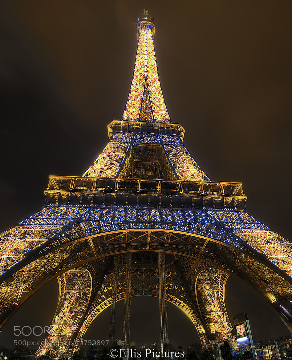 Photograph The Illuminated Eiffel Tower by Steven Ellis on 500px