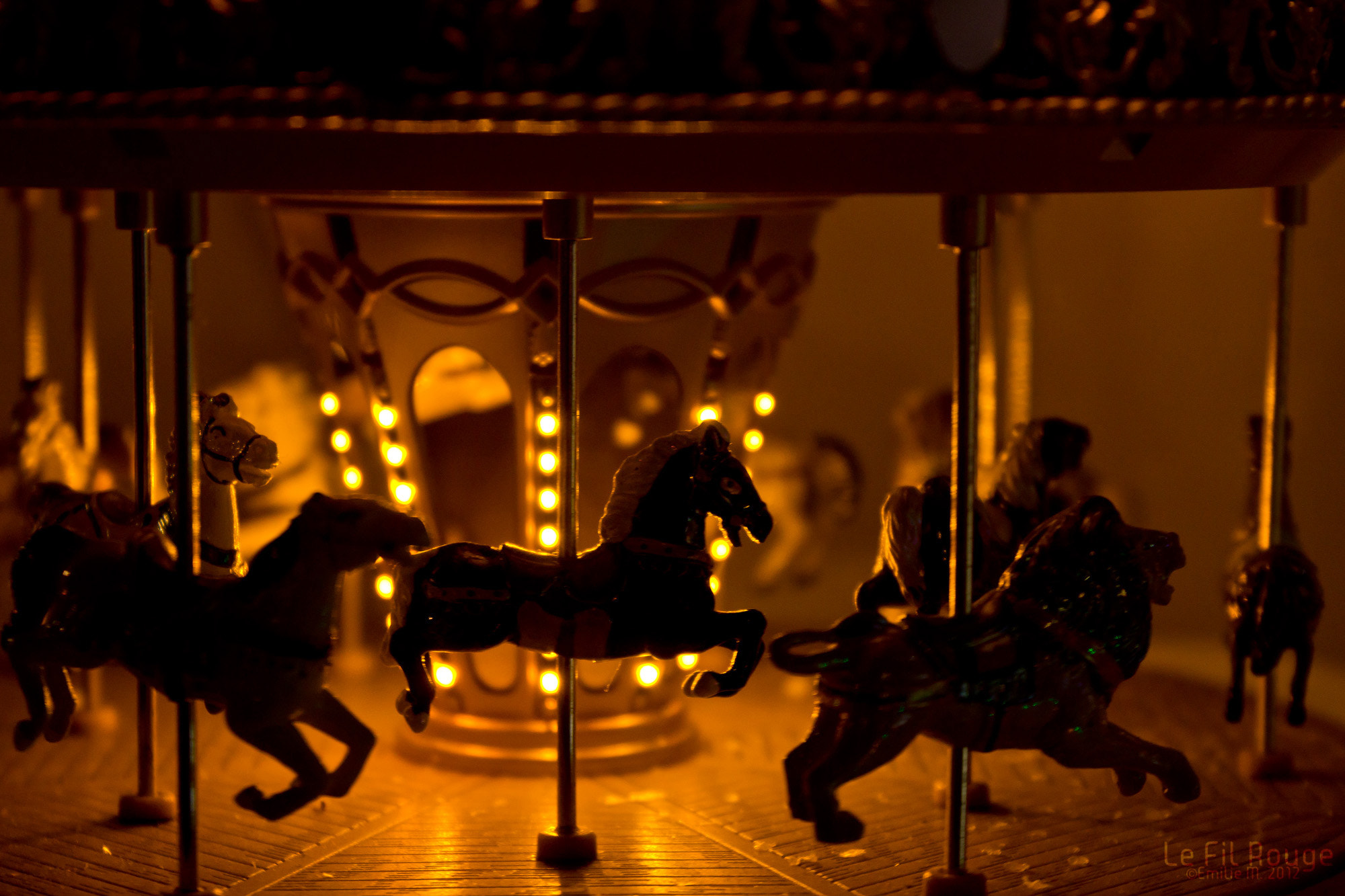 Photograph Carousel by Emilie Filrouge on 500px