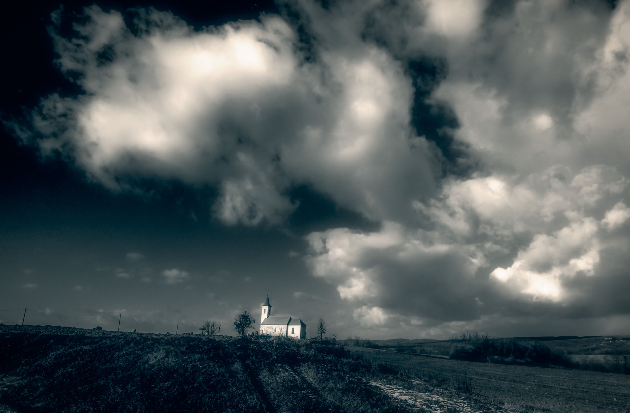 Photograph Nowhere Church by Eddie MacGraw on 500px