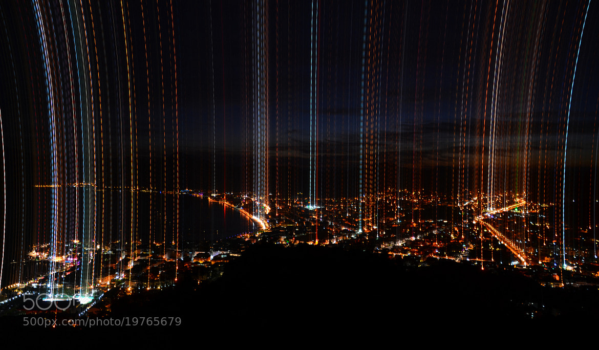 Photograph Marmaris lights dance by muhammet özcan on 500px