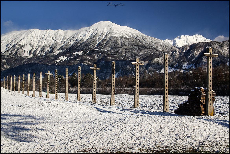 Photograph Winter line by Jaro Miščevič on 500px